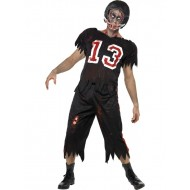 High School American Football Zombie Costume