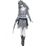 Ghost Town Cow Girl Costume