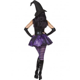 Rebel Toons Wicked Witch Costume