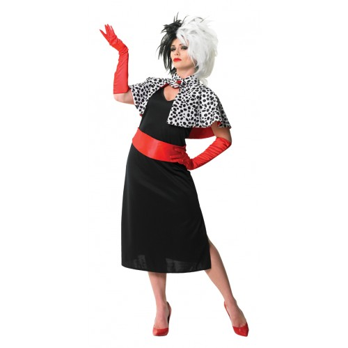 cruella de ville costume 101 dalmatians. Black Bedroom Furniture Sets. Home Design Ideas